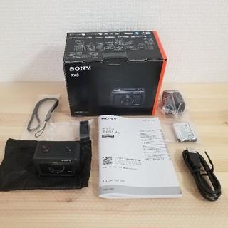 ソニー(SONY)の美品 ソニー Cyber-shot DSC-RX0 アクションカメラ(コンパクトデジタルカメラ)