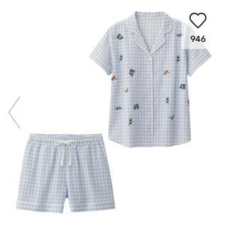 ジーユー(GU)のGU ☆ ギンガムチェックパジャマ(パジャマ)