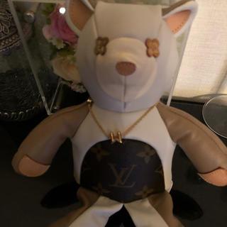 ルイヴィトン(LOUIS VUITTON)のルイヴィトン Louis Vuitton クマ くま ぬいぐるみ テディベア(ぬいぐるみ/人形)