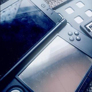 ニンテンドウ(任天堂)の【箱なし】3DSLL本体+充電器セット(携帯用ゲーム本体)