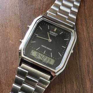 カシオ(CASIO)のカシオ CASIO アナデジ腕時計 デジアナ チープカシオ(腕時計(アナログ))