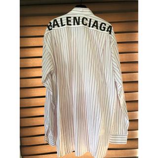 バレンシアガ(Balenciaga)のbalenciaga  over size shirt(シャツ)
