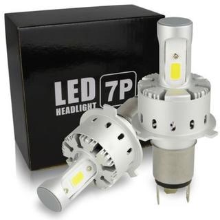 H4 Hi/Lo 車検対応 LEDヘッドライト 6000K 12000ルーメン(その他)