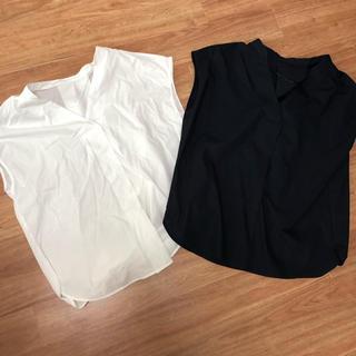 ジーユー(GU)の今季 GU 半袖 スキッパーシャツ セット(シャツ/ブラウス(半袖/袖なし))