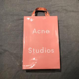 acne pvc ビニール トートバッグ