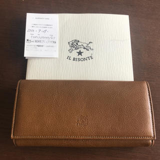 イルビゾンテ(IL BISONTE)のILBISONTE 三つ折り長財布 (財布)