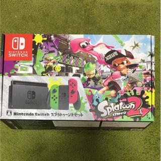 Nintendo Switch - スプラトゥーン2セット イカすスタートガイド付き(メーカー一年保証付き)