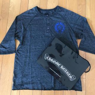 クロムハーツ(Chrome Hearts)の再出品売り切り値下げ 正規品クロムハーツバッククロスプリント七分袖TシャツM(Tシャツ/カットソー(七分/長袖))