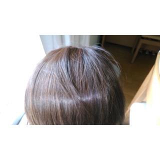 前髪ウィッグ やや茶色(前髪ウィッグ)