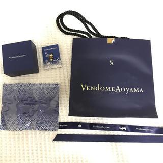 ヴァンドームアオヤマ(Vendome Aoyama)のヴァンドームアオヤマ ショッパー バッチ クロス (ショップ袋)