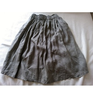 MUJI (無印良品) - 無印♡リネンスカート