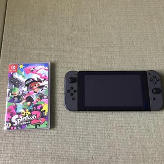 Nintendo Switch - 任天堂スイッチ本体&スプラトゥーンソフト付き