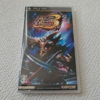 プレイステーションポータブル(PlayStation Portable)のPSP モンスターハンター3rd ソフト(携帯用ゲームソフト)