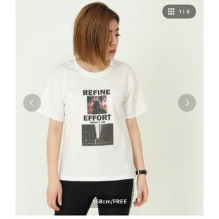 アンビー(ENVYM)のENVYM Tシャツ ホワイト(Tシャツ(半袖/袖なし))