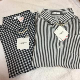 シマムラ(しまむら)のシャツ 2枚セット(シャツ/ブラウス(長袖/七分))