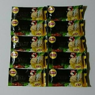 台湾 リプトン ジャスミンミルクティー 立頓 東方茉香乳緑 10袋(その他)