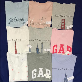GAP - GAP レディースTシャツ【新品未使用タグ付き正規品 9枚セット‼︎ Mサイズ】
