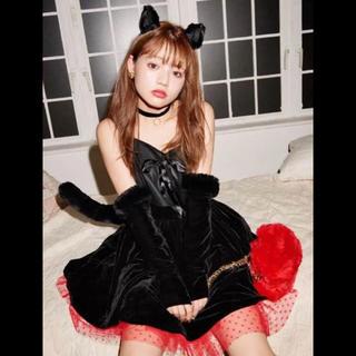 heather - ちぃぽぽ ハロウィン コスプレ 黒猫