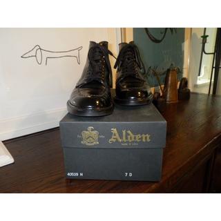 オールデン(Alden)のAlden×BEAMS インディブーツ 7D(ドレス/ビジネス)