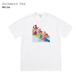 シュプリーム(Supreme)のSupreme swimmers tee sizeM white(Tシャツ/カットソー(半袖/袖なし))