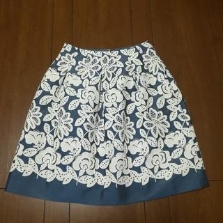 エムズグレイシー(M'S GRACY)のエムズグレイシー レーススカート(ひざ丈スカート)