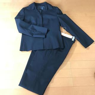 コムサデモード(COMME CA DU MODE)のコムサのスーツ 黒 (スーツ)