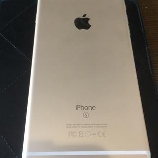 アップル(Apple)のアップルiPhone6sPlusゴールド充電ケーブルdocomoiPad Pro(バッテリー/充電器)