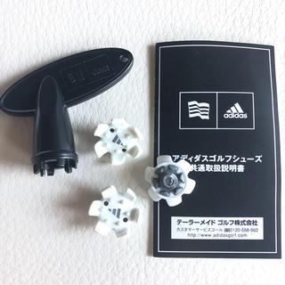アディダス(adidas)の【未使用】adidas ゴルフシューズ スパイク(シューズ)