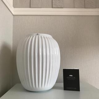 ケーラー(Kahler)のケーラー ハンマースホイ フラワーベース (M) 花瓶(花瓶)