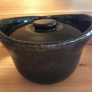 ムジルシリョウヒン(MUJI (無印良品))の無印 土鍋おこげ 3合(鍋/フライパン)