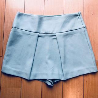 ザラ(ZARA)のZARA 新品未使用 ミニスカート風 ショートパンツ XS(ショートパンツ)