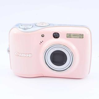 ✨可愛いピンクのお手軽コンデジ✨キャノン PowerShot E1(コンパクトデジタルカメラ)