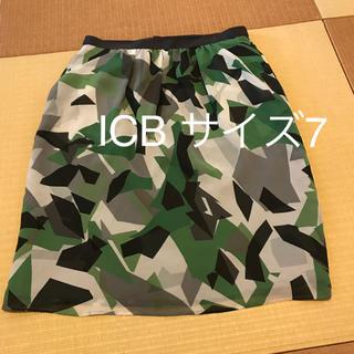 アイシービー(ICB)のICB スカート サイズ7(ひざ丈スカート)