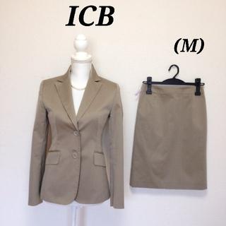 アイシービー(ICB)の☆美品☆ICB スカートスーツ☆M☆ベージュ(スーツ)