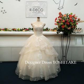 ウエディングドレス(パニエ無料) アイボリープリンセスドレス 挙式(ウェディングドレス)