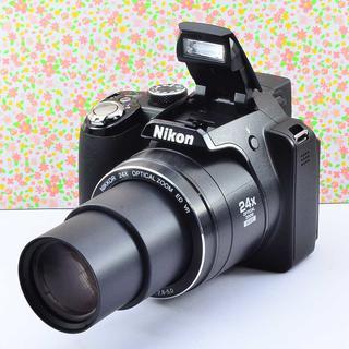 ✨Wifi & ケース付き♬ & 本格コンデジ✨ニコン COOLPIX P90(コンパクトデジタルカメラ)