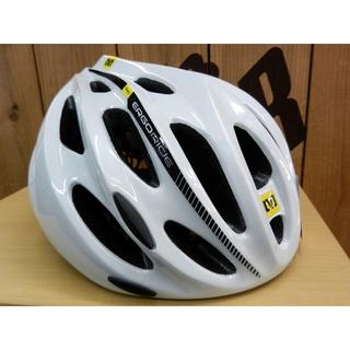 [新品] MAVIC ヘルメット エスポア M 定価¥12420 ロード 白