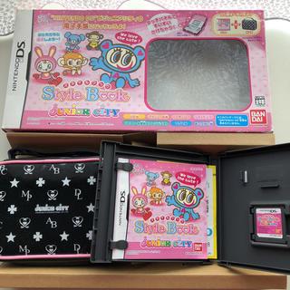 ニンテンドウ(任天堂)の任天堂DSソフト ジュニアシティー Style book(携帯用ゲームソフト)