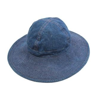 エンジニアードガーメンツ(Engineered Garments)のOrslow オアスロウ US NAVY HAT デニムハット インディゴ 1(ハット)