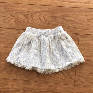 ジーユー(GU)のGU♡レーススカート(スカート)