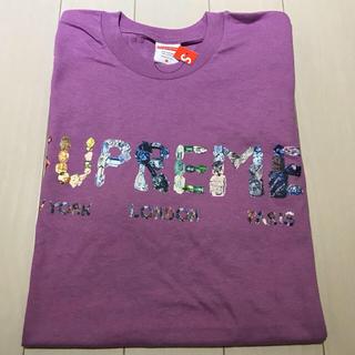 シュプリーム(Supreme)のM 希少 パープル supreme rocks tee Tシャツ 紫(Tシャツ/カットソー(半袖/袖なし))