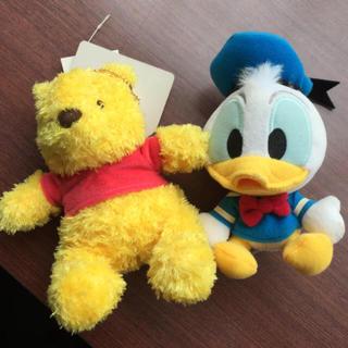 ディズニー(Disney)のぬいぐるみ キーホルダー 美品(キーホルダー)