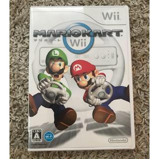 ニンテンドウ(任天堂)の【美品】マリオカートWii ソフト単品 [Nintendo Wii](家庭用ゲームソフト)