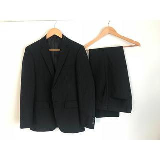 オリヒカ(ORIHICA)のビジネス スーツ ORIHICA オリヒカ Y5 ブラック ストライプ(セットアップ)