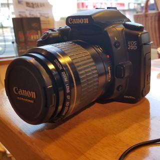 キヤノン(Canon)のEOS 20D 撮影セット(デジタル一眼)