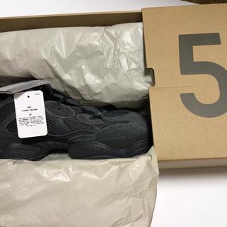アディダス(adidas)の【送料込】adidas yeezy 500 utility black 28cm(スニーカー)