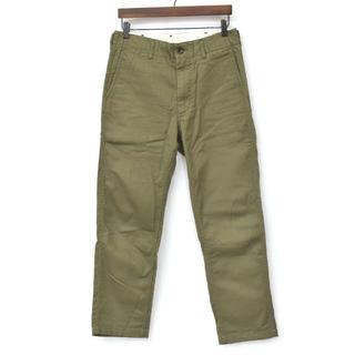 エンジニアードガーメンツ(Engineered Garments)の美品 エンジニアードガーメンツ USN Pant パンツ カーキ 30(ワークパンツ/カーゴパンツ)