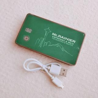 マウントレーニア モバイルチャージャー(バッテリー/充電器)