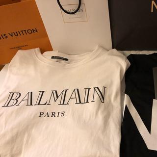 バルマン(BALMAIN)の【即発送可】BALMAN バルマン Tシャツ(Tシャツ/カットソー(半袖/袖なし))