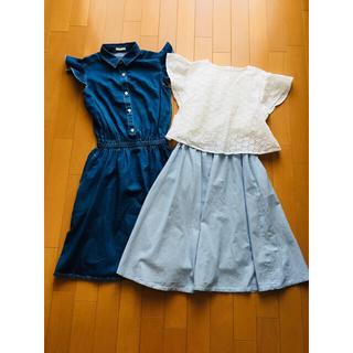 ジーユー(GU)のジーユー 150サイズ 女の子用 4着セット(その他)